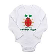 Irish Bugger/Grandma Long Sleeve Infant Bodysuit