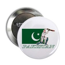 "Pakistan Cricket Player 2.25"" Button (10 pack)"
