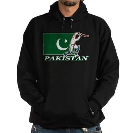Pakistan Cricket Player Hoodie (dark)