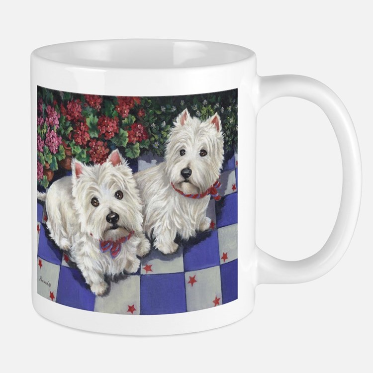 WESTIE SUMMER BREEZE Mug
