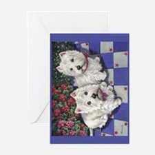 WESTIE SUMMER BREEZE Greeting Cards (Pk of 10)