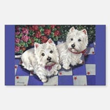 WESTIE SUMMER BREEZE Decal