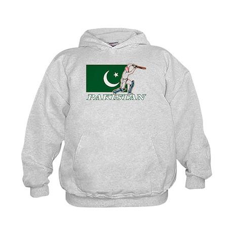 Pakistan Cricket Player Kids Hoodie