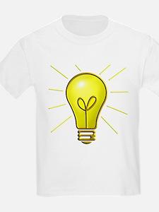 Light Bulb Kids T-Shirt