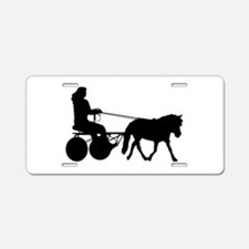 driving silhouette Aluminum License Plate