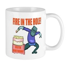 85th Birthday Small Mug