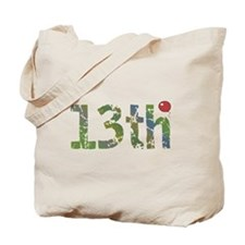 13th Birthday Tote Bag