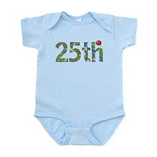 25th Birthday Infant Bodysuit