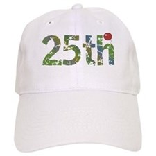 25th Birthday Baseball Cap