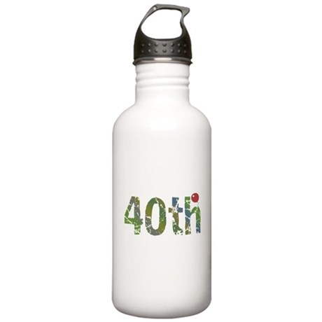 40th Birthday Stainless Water Bottle 1.0L