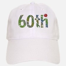 60th Birthday Baseball Baseball Cap