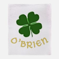 Irish O'Brien Throw Blanket