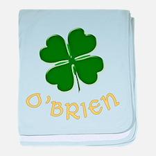 Irish O'Brien baby blanket