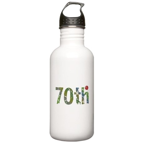 70th Birthday Stainless Water Bottle 1.0L