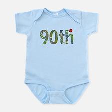 90th Birthday Infant Bodysuit