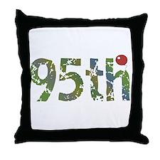 95th Birthday Throw Pillow
