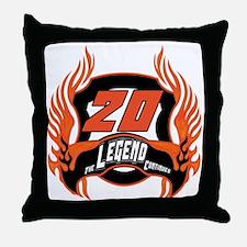 20th Birthday Throw Pillow