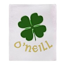 Irish O'Neill Throw Blanket