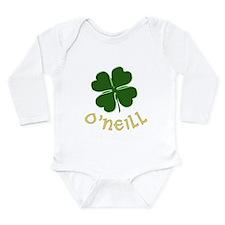 Irish O'Neill Long Sleeve Infant Bodysuit