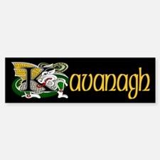 Kavanagh Celtic Dragon Bumper Bumper Bumper Sticker