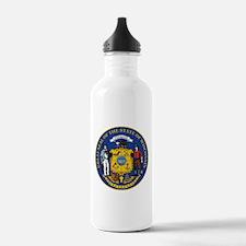 Wisconsin Crest Water Bottle