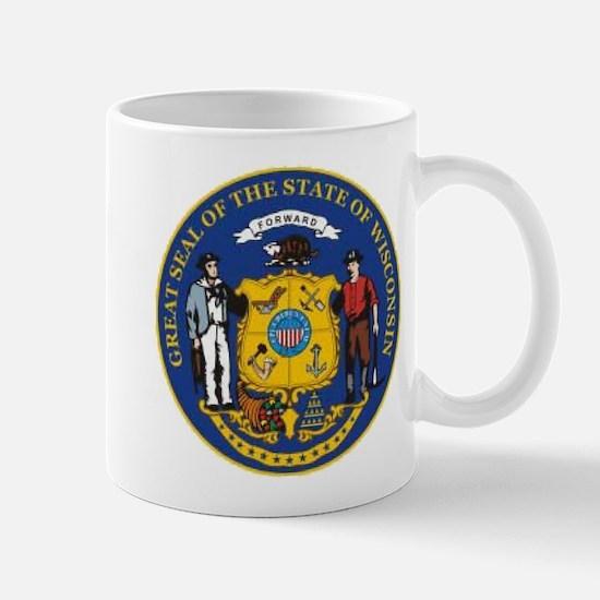 Wisconsin Crest Mug