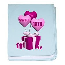 16th Birthday baby blanket