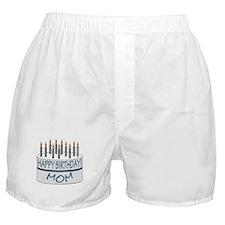 Happy Birthday Mom Boxer Shorts