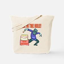 45th Birthday Tote Bag