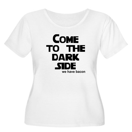 Come to the dark side we have Women's Plus Size Sc