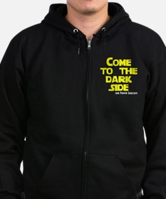 Come to the dark side we have Zip Hoodie (dark)