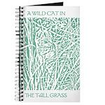 Cat in Tall Grass Journal