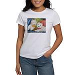 WESTIE LET A WESTIE RESCUE YOU! Women's T-Shirt