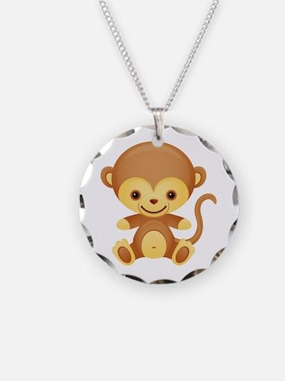 Cute Kawaii Monkey Necklace