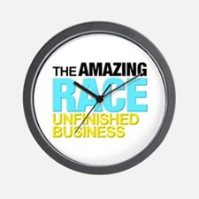The Amazing Race Unfinished Business Wall Clock