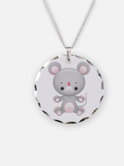 Cute Kawaii Mouse Rat Necklace