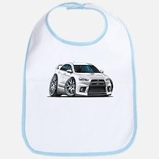 Mitsubishi Evo White Car Bib