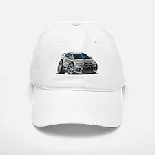 Mitsubishi Evo Silver Car Baseball Baseball Cap