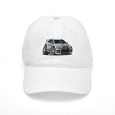 Mitsubishi Evo Silver Car Baseball Cap