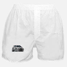 Mitsubishi Evo Silver Car Boxer Shorts