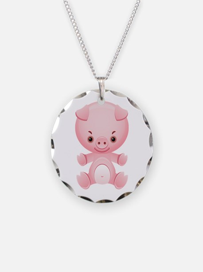 Cute Kawaii Cartoon pig Necklace