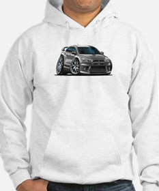 Mitsubishi Evo Grey Car Jumper Hoody