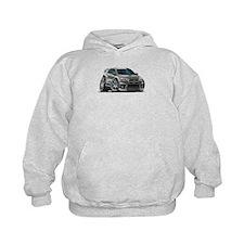 Mitsubishi Evo Grey Car Hoodie