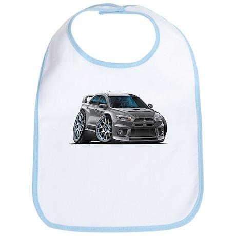 Mitsubishi Evo Grey Car Bib