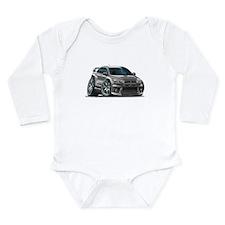 Mitsubishi Evo Grey Car Long Sleeve Infant Bodysui