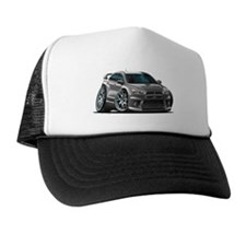 Mitsubishi Evo Grey Car Trucker Hat