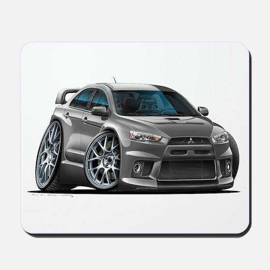 Mitsubishi Evo Grey Car Mousepad