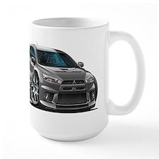 Mitsubishi Evo Grey Car Mug