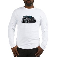 Mitsubishi Evo Black Car Long Sleeve T-Shirt