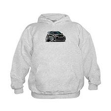 Mitsubishi Evo Black Car Hoodie